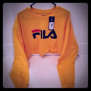 FILA crop top shirt